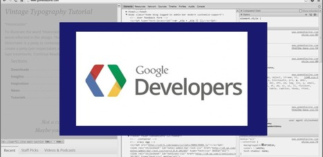 Quick Tips on Using Google Chrome's Developer Tools | GoMediaZine | Chrome DevTools | Scoop.it