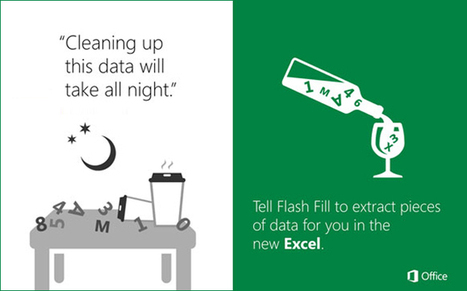 Using the 'Flash Fill' feature to apply the desired formatting in Excel 2013 | Office Applications | Scoop.it