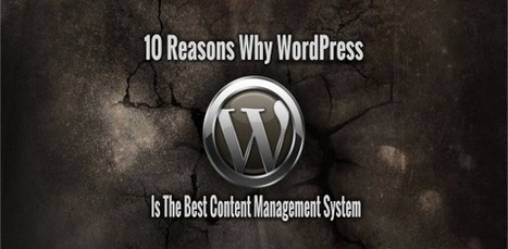 10 Reasons Why WordPress Is The Best Content Management System | Latest Technology Trends | Scoop.it