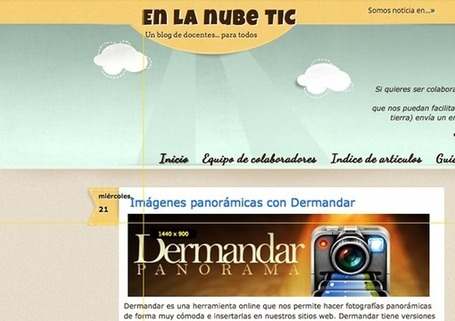 En la nube TIC: Jing, para capturar pantallas | EDUCATIC | Scoop.it