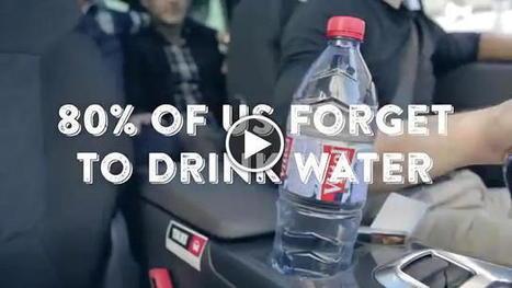 Ricordati di bere ogni ora: il tappo che ti avvisa - Repubblica Tv - la Repubblica.it | Health promotion. Social marketing | Scoop.it