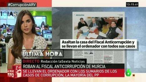 CNA: La Policía sospecha que fueron ladrones cercanos al PP quienes robaron el ordenador del Fiscal Anticorrupción de Murcia | La R-Evolución de ARMAK | Scoop.it