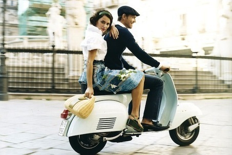 WHAT TO WEAR ON A VESPA? | Vespa Stories | Scoop.it
