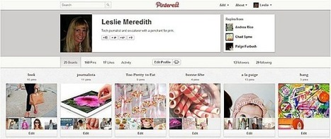 3 Things to Know About Your New Pinterest Profile | TechNewsDaily.com | Pinterest | Scoop.it