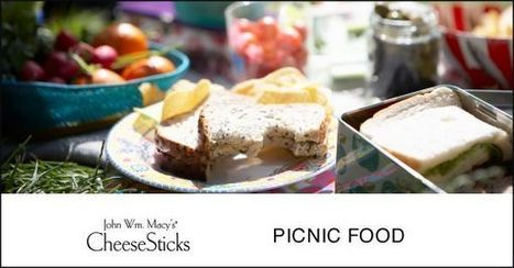 Cheesesticks :: Fun Foods for Your Next Picnic | Gourmet Snacks | Scoop.it
