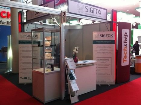 SIGFOX booth at CeBIT, starting today !! | Cloud Wireless | Scoop.it