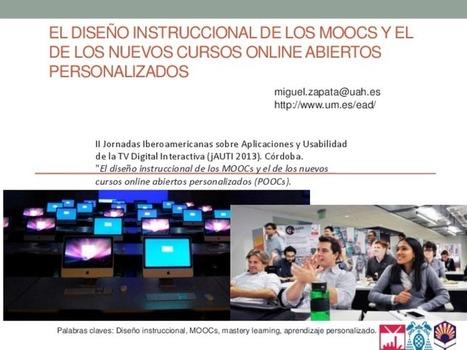 El diseño instruccional de los MOOCs y el de lo... | Formación y Desarrollo en entornos laborales | Scoop.it