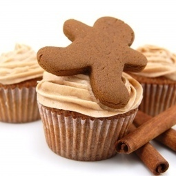 Gingerbread Cupcakes & Cinnamon Cream Cheese Icing | Cakes & Bakes | Scoop.it