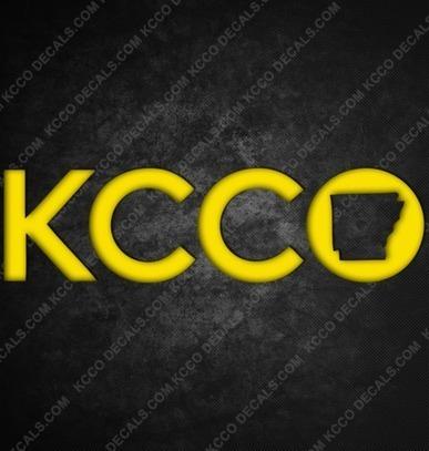 #Arkansas #KCCO Sticker - KCCOdecals.com | KCCO | Scoop.it