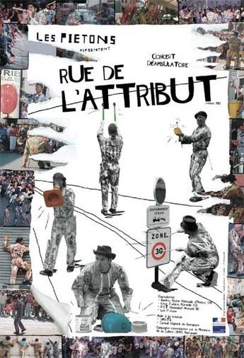 Rue de l'attribut - Les piétons | DESARTSONNANTS - CRÉATION SONORE ET ENVIRONNEMENT - ENVIRONMENTAL SOUND ART - PAYSAGES ET ECOLOGIE SONORE | Scoop.it