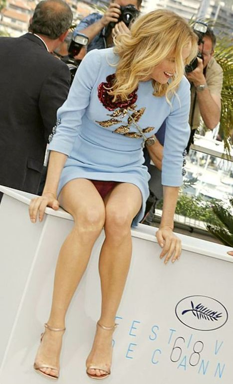 Photos : Oops la culotte sexy de Diane Kruger au Festival de Cannes   Radio Planète-Eléa   Scoop.it