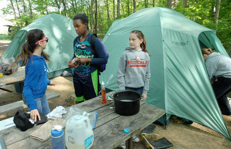 Camping part of program to teach students outdoor lessons - Pantagraph.com - Bloomington Pantagraph   Outdoor Adventurous Activities   Scoop.it