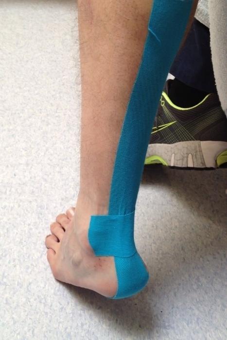 Foot and ankle taping | Run Bike Swim Hike | Scoop.it