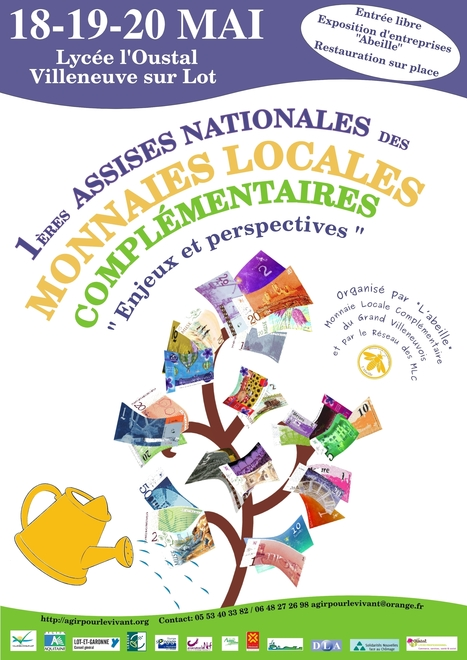 1ères assises nationales des monnaies locales et complémentaires - 18 au 20 mai 2013 à Villeneuve sur Lot | Nouveaux paradigmes | Scoop.it