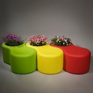 Infinity Bench Planter   Home and Garden Ideas   Scoop.it