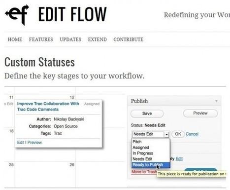 EditFlow – Transforma Wordpress en una verdadera herramienta de edición colaborativa | EDUDIARI 2.0 DE jluisbloc | Scoop.it