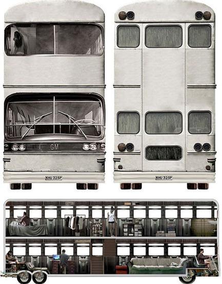 Bus Móvil Home. Doble decker convertido en casa comunidad | CAMPING VALDERREDIBLE. | Scoop.it