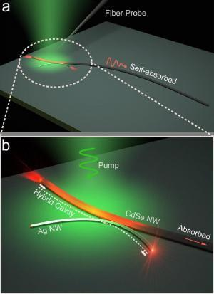 Photon-plasmon nanowire laser offers new opportunities in light manipulation | Amazing Science | Scoop.it