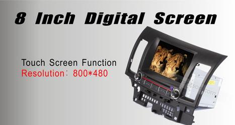 €389.99 DVD de voiture de navigation GPS pour MITSUBISHI LANCER EX 2010 - FM, Bluetooth, carte gratuite - 7mall.fr | 7mall | Scoop.it