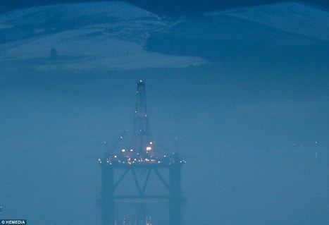 The oil rig graveyard: A dozen rigs lie parked in Scottish firth | Oil and Gas | Scoop.it