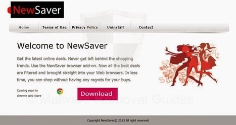 Uninstall Software Guides - How to Completely Remove Programs with Software Removal Tips: Can't Get Rid of NewSaver Ads – How Do I Uninstall NewSaver Ads Successfully from Windows 7 | uninstall tool | Scoop.it