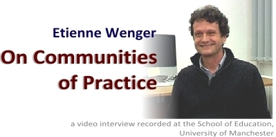 Etienne Wenger - Video interview | Appunti WEBM.org | Scoop.it