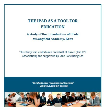 Naace: The iPad as a Tool For Education - a case study | E-learning arts | Scoop.it