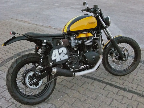 TRIUMPH custom scrambler #164 by Drags and Racing | Triumph Classic | Scoop.it