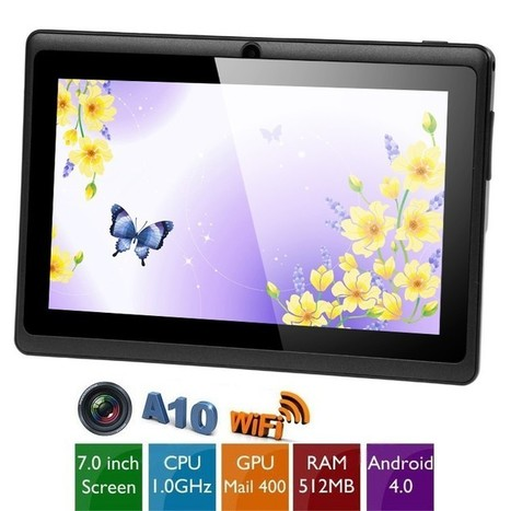 """Cheap 7"""" Multi-touch Capacitive Screen Android 4.0 4GB Tablet PC /w Camera WiFi (CPU A13 1GHz RAM 512MB GPU Mali-400) - PayPal - Free Shipping   Aurabuy Weekly Specials:50%-90% off,Only for a limited period   Scoop.it"""