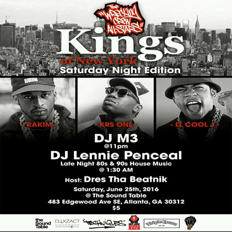 This Saturday night TheWreckingCrewAllstars KINGS OF NEW YORK at TheSoundTableAtl ... #KingsOfNewYork | GetAtMe | Scoop.it