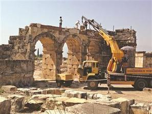 ARCHAEOLOGY - Restoration work ends at Hierapolis theater | Archaeology News | Scoop.it