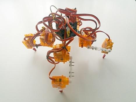 Tote, un barato y fácil de construir robot cuadrúpedo basado en Arduino | TECNOLOGÍA_aal66 | Scoop.it