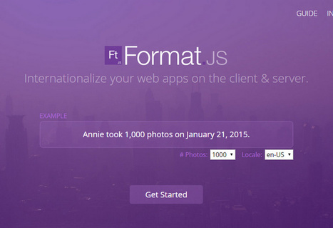 FormatJS - Internationalize Your Web Applications | Conception et rédaction pour le web | Scoop.it
