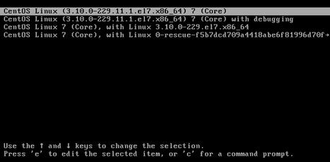 Réinitialiser le mot de passe root sous CentOS / Red Hat 7   Informatique   Scoop.it