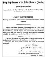 Featured Document: The 19th Amendment   Eden Edelson 19   Scoop.it