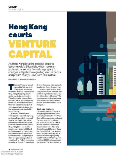 Venture Capital Tech Deals in Hong Kong, Business | wesrch | Scoop.it