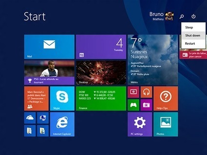 Windows 8.1 update 1 officialisé pour le printemps | cloud | Scoop.it