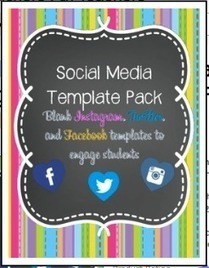Some Useful Blank Social Media Templates to Use in Class   TEFL & Ed Tech   Scoop.it