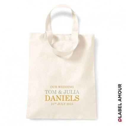 Label Amour   Personalised Tote Bags for Wedding   Personalised Labels   Scoop.it