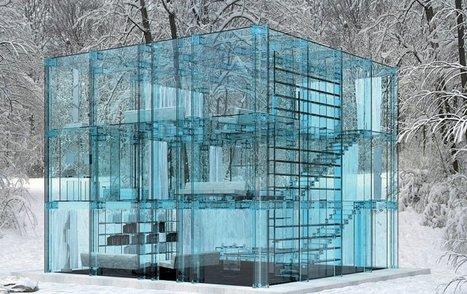 [inspiration] La maison entièrement faite de verre | Immobilier | Scoop.it