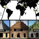 Three different ancient buildings from three different parts of the world, yet they look exactly the same. - via @9GAGTweets | Buildings of Ancient Cities | Scoop.it