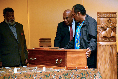In a solemn ceremony in Paris, France returns skull of New Caledonian chief, 135 years on | Art Daily | Océanie | Scoop.it