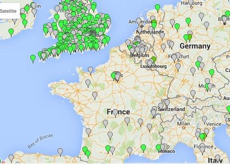 Carte mondiale des villes en transition   Les cartes des Alternatives - Géographie de la transition   Scoop.it