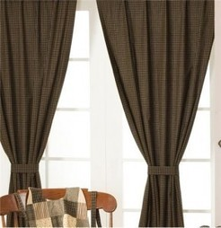 Kettle Grove Country Curtain Panel Set by Victorian Heart | Country Home Design Ideas | Scoop.it