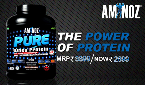 Best Whey Protein Supplement | Aminoz Health and Sports Supplements | Scoop.it