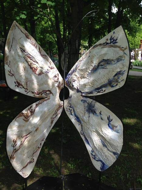 Marianne Le Vexier: Butterfly | Art Installations, Sculpture, Contemporary Art | Scoop.it
