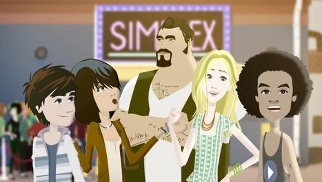 Simplex, le dessin animé qui fait aimer les maths aux ados | Dom scoops | Scoop.it