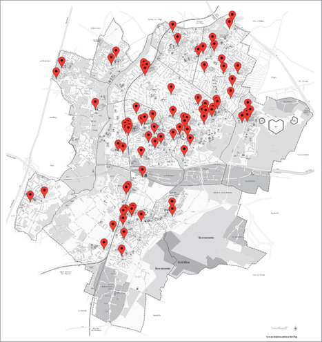 La production de l'espace - Matthieu Saladin | Cartographie culturelle | Scoop.it