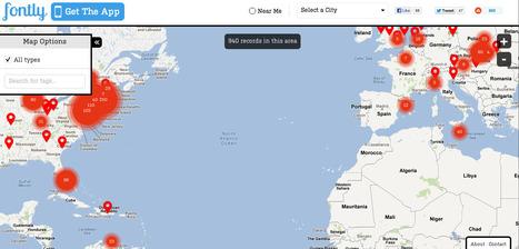 Fontly - Capture, map, explore world of vintage typography | Escuela y Web 2.0. | Scoop.it