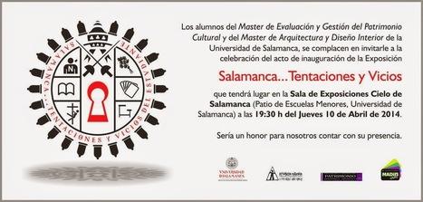 ArtEForArt: Las tentaciones del estudiante en la Universidad de Salamanca... ¡hechas exposición! @STentacivicios   Redes sociales en educación 3.0   Scoop.it